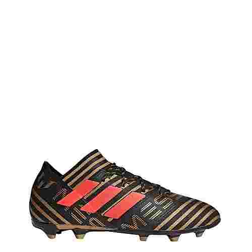 adidas Nemeziz Messi 17.2 FG Fußballschuhe Herren Core Black/Solar Red/Tactile Gold Met.