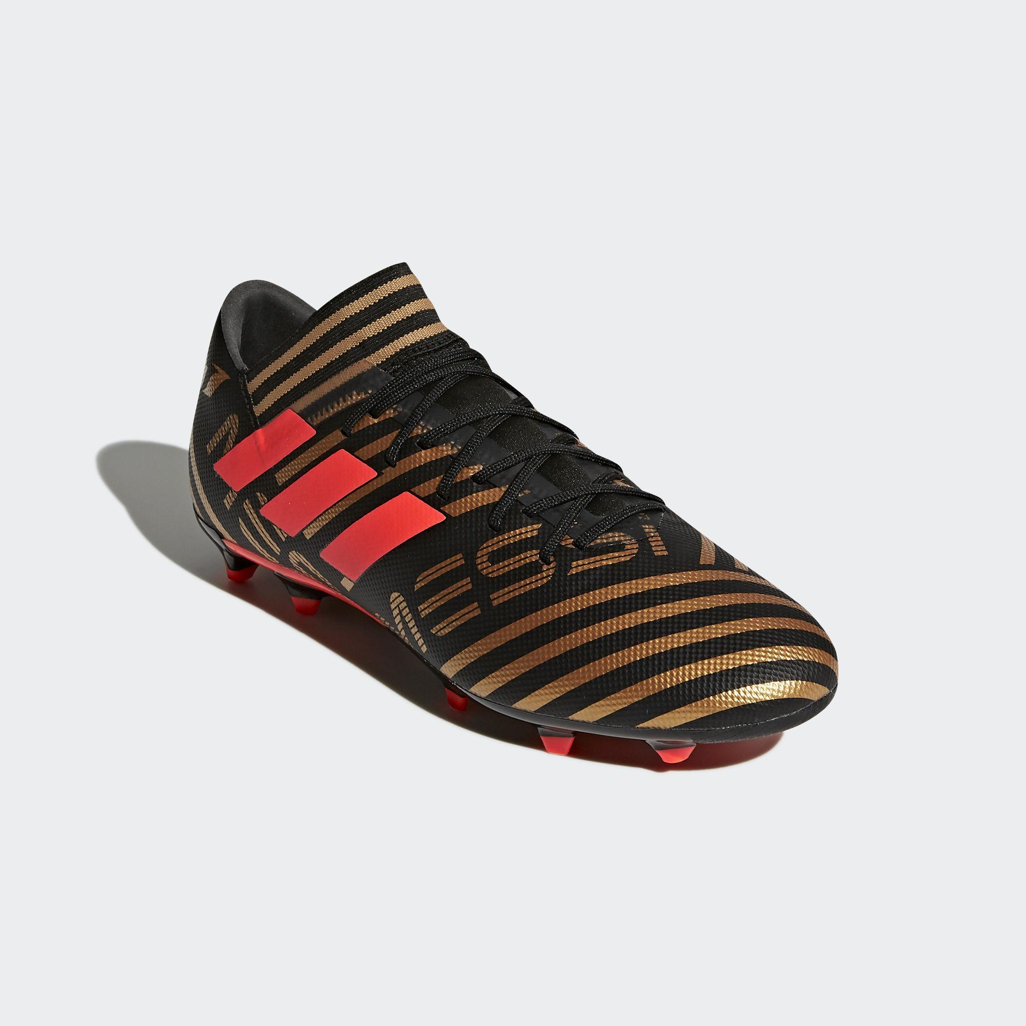 Adidas Nemeziz Messi 17.3 FG Fußballschuhe Herren Core schwarz schwarz schwarz Solar rot Tactile Gold Met. im Online Shop von SportScheck kaufen Gute Qualität beliebte Schuhe b78cdc