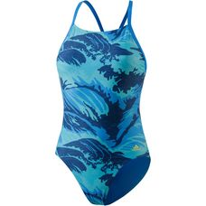 adidas Parley for the Oceans Schwimmanzug Damen bright blue