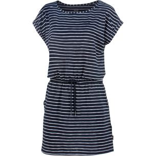 Jack Wolfskin Travel Jerseykleid Damen midnightblue stripes