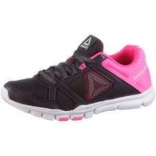 Reebok Yourflex Trainette Fitnessschuhe Damen smoky volcano-acid pink-white