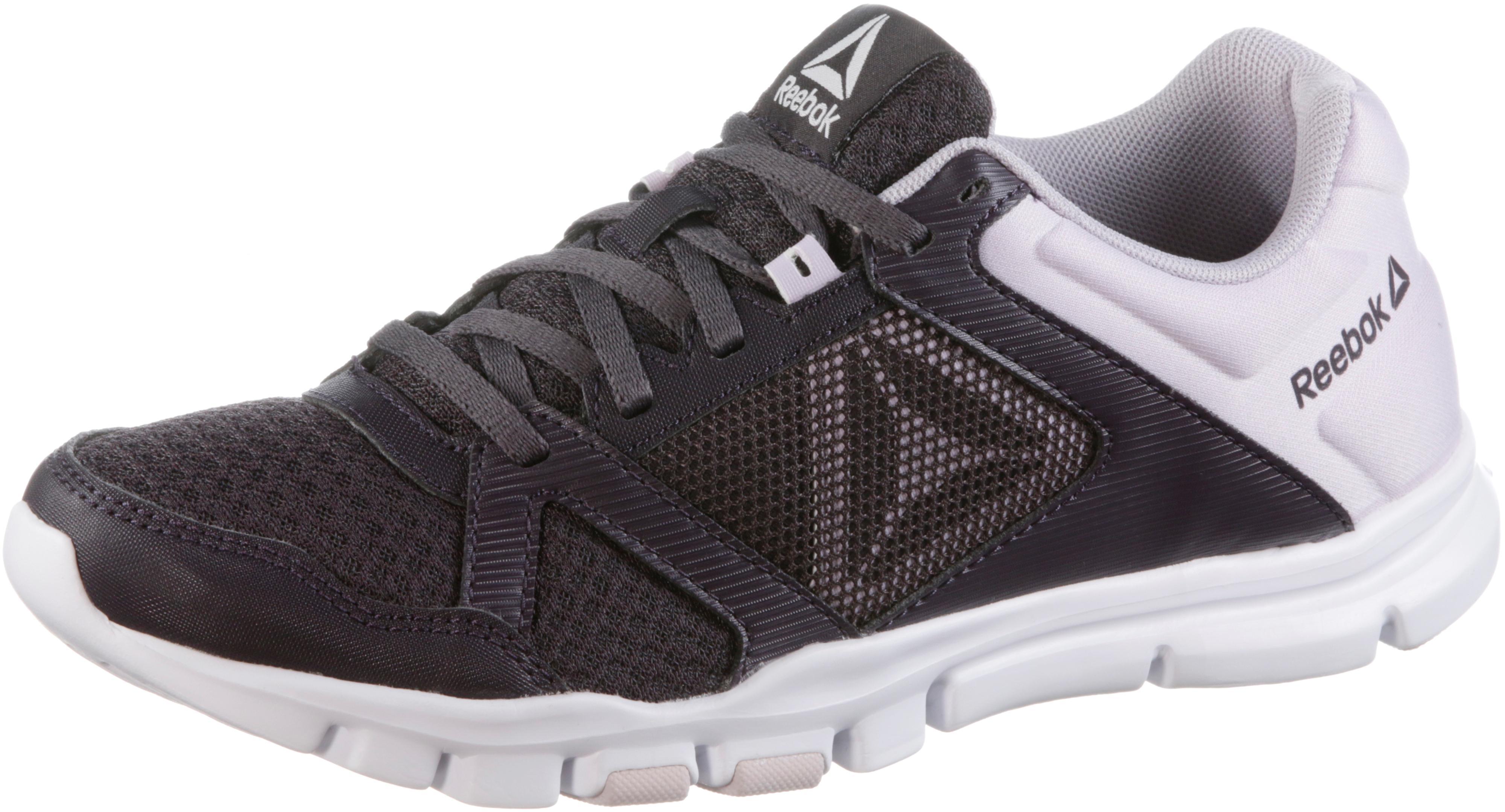Reebok Yourflex Trainette Fitnessschuhe Damen schwarz-Weiß-alloy im Online Shop von SportScheck kaufen Gute Qualität beliebte Schuhe