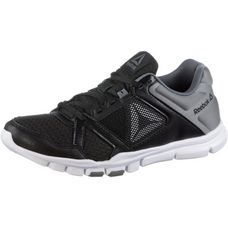 Reebok Yourflex Trainette Fitnessschuhe Damen black-white-alloy