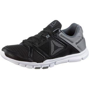 Reebok Yourflex Trainette Fitnessschuhe Damen black-white-alloy