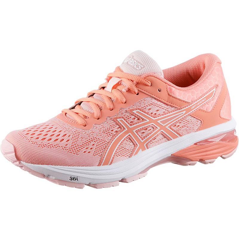 ASICS GT-1000 6 Laufschuhe Damen seashell pink-begonia pink-white im ... 24df0464ff