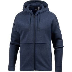 adidas ID Stadium Kapuzenjacke Herren stadium-heather-nobile-indigo