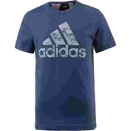 adidas T-Shirt Kinder noble-indigo