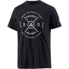 Reebok Graphic T-Shirt Herren black