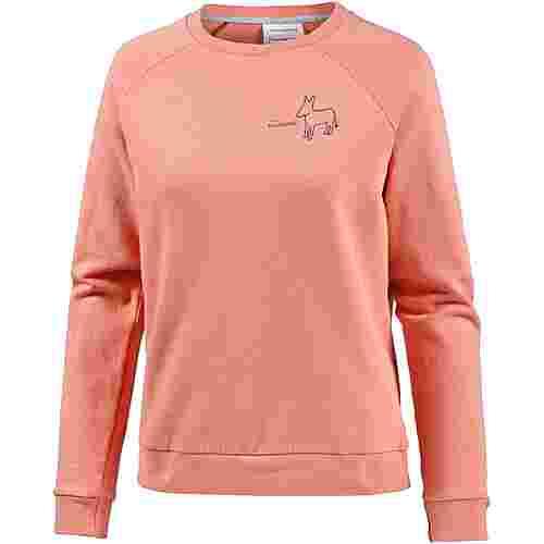 ARMEDANGELS Roomy Little Donkey Sweatshirt Damen peach