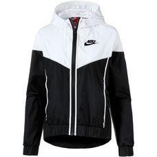 Nike W Nsw Wr Jkt Windbreaker Damen black-white-black