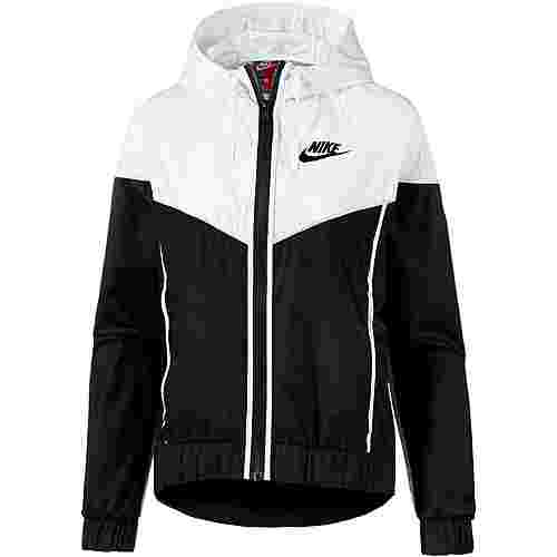 Nike NSW Windrunner Windbreaker Damen black-white-black