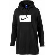 Nike W Nsw Hoodie Xl Swsh Longsweat Damen black-white