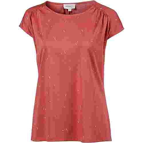 ARMEDANGELS Lili Rice & Confetti T-Shirt Damen mineral red