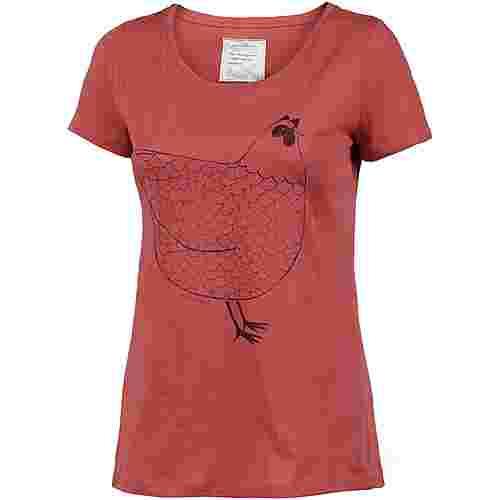 ARMEDANGELS Mari Hen T-Shirt Damen mineral red