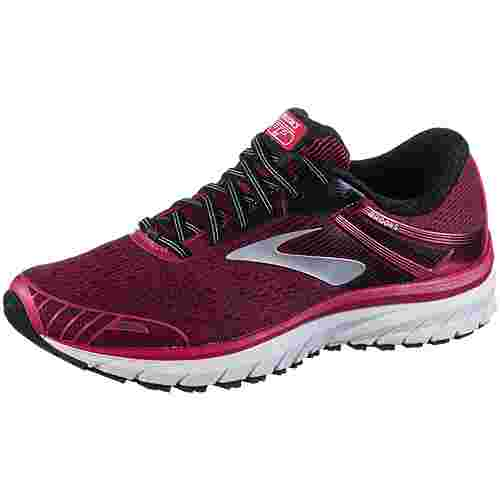 Brooks Adrenaline GTS 18 Laufschuhe Damen pink-black-white