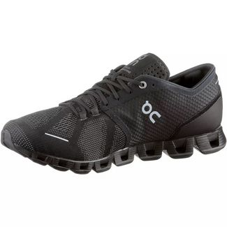 ON Cloud X Laufschuhe Herren black-asphalt