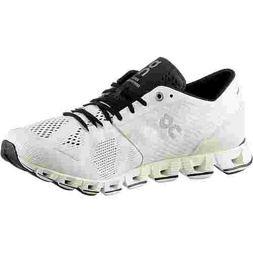 ON Cloud X Laufschuhe Damen white-black