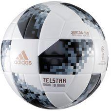 adidas World Cup J350  Telstar 18 Fußball white/black/silver met.