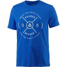 Reebok Graphic T-Shirt Herren vital-blue
