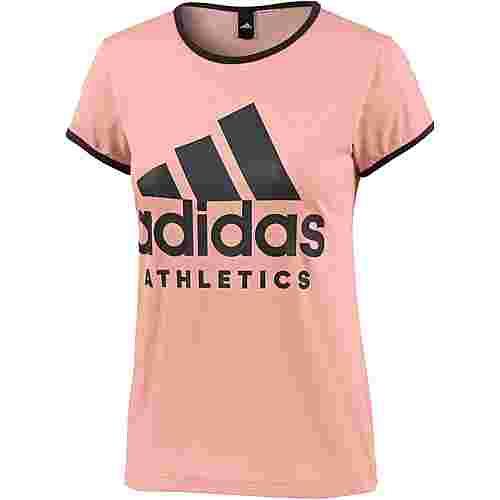 adidas T-Shirt Damen trace pink