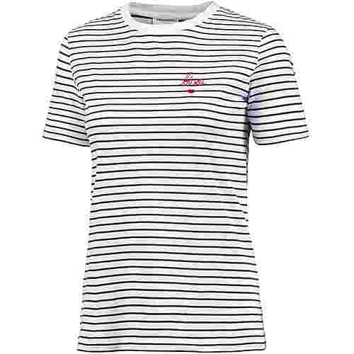 ARMEDANGELS Lida Bisou On Stripes T-Shirt Damen navy-white