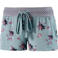 Jockey Shorts Damen blau-rosa