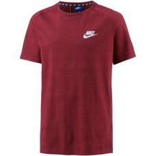 Nike NSW AV15 T-Shirt Herren team-red-htr-white