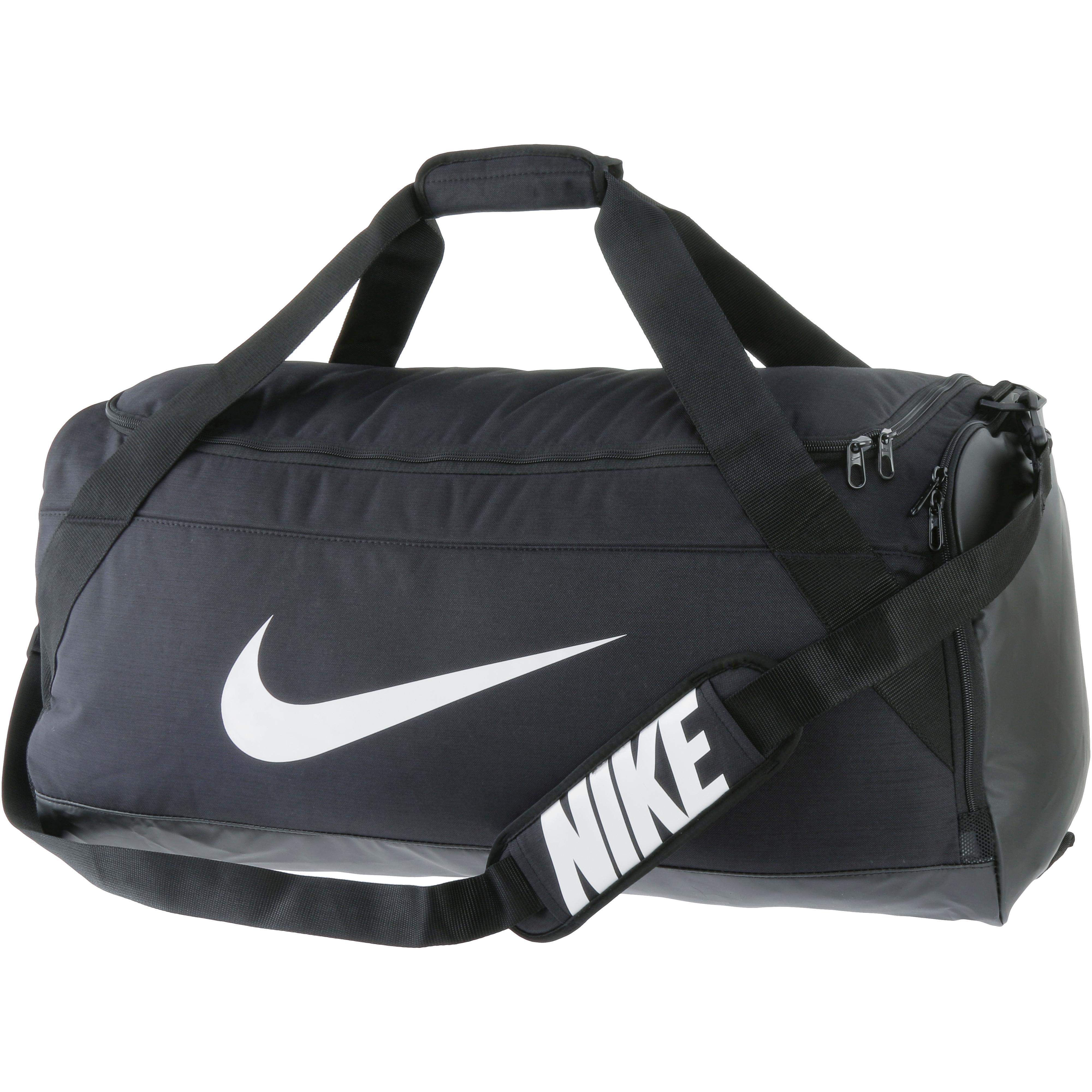 c2d73bb9b83cb Nike Brasilia Large Sporttasche black-black-white im Online Shop von  SportScheck kaufen