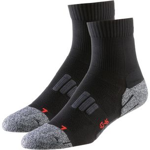 unifit 2er Pack Laufsocken Herren black