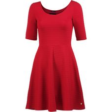 Superdry Kurzarmkleid Damen Flare Red