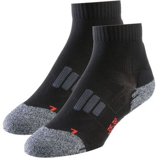 unifit 2er Pack Laufsocken Damen black