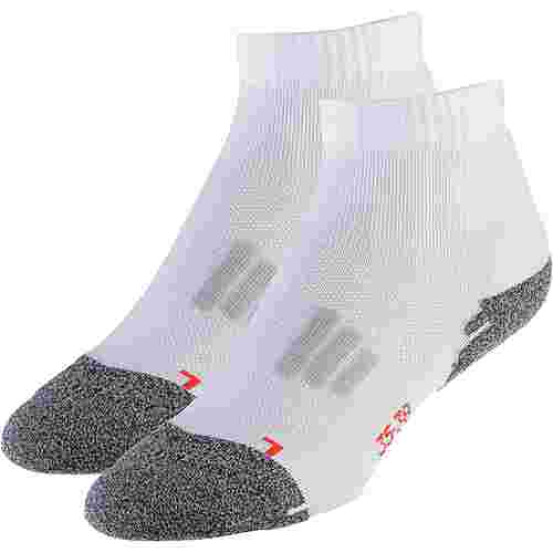 unifit 2er Pack Laufsocken Damen white