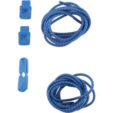 NATHAN Lock Laces Schuhbänder royal-blue