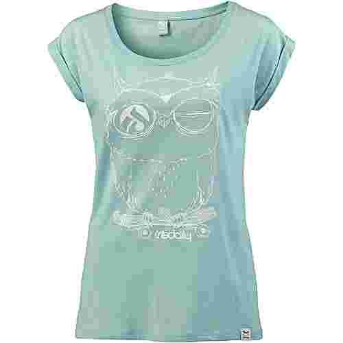 iriedaily Skateowl 2 Tee T-Shirt Damen mint