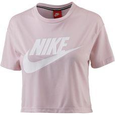 Nike Essential Croptop Damen barely rose-barely rose-white