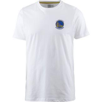 New Era Golden State Warriors T-Shirt Herren white