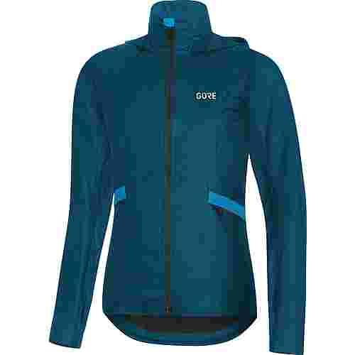 GORE® WEAR R5 Shakedry Laufjacke Damen pacific blue