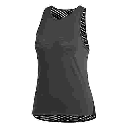 adidas Performer B-Ball Mesh Funktionsshirt Damen Carbon/Black