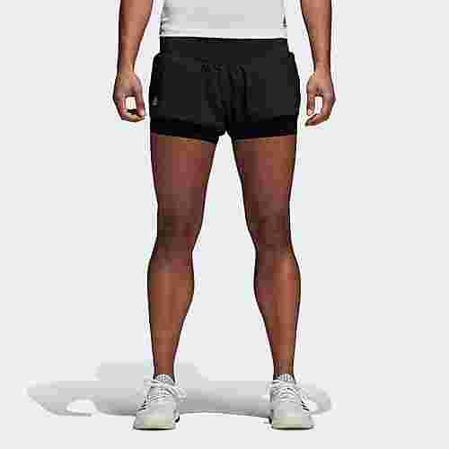 adidas Advantage Tennisshorts Damen Black/Clear Onyx