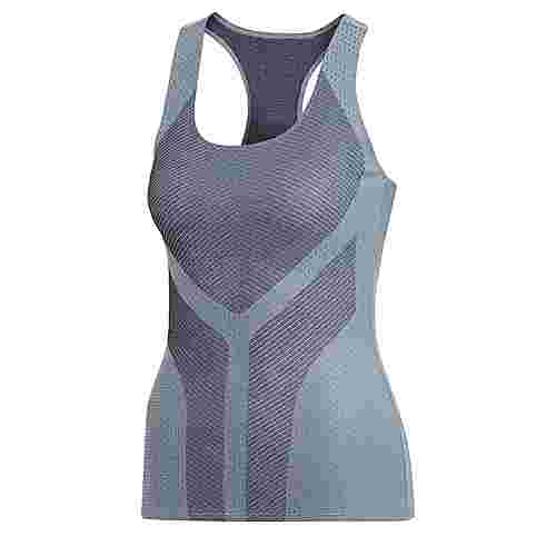 adidas Graphic Tanktop Funktionsshirt Damen Legend Ink/Raw Grey