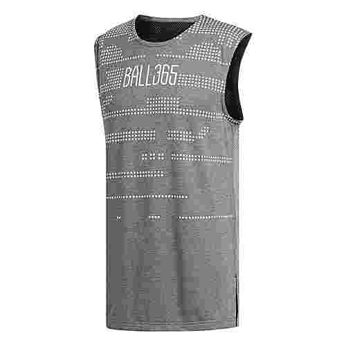 adidas Ball 365 Climalite Basketball Shirt Herren Grey/Black