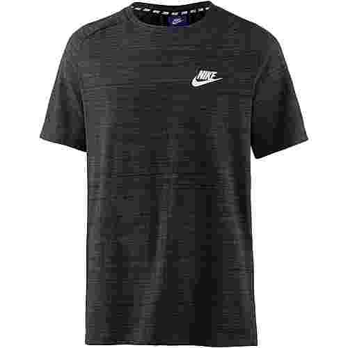 Nike NSW AV15 T-Shirt Herren black-htr-white