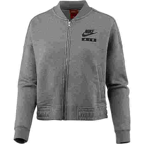 Nike NSW Varsity Air Sweatjacke Damen carbonheather-coolgrey-black
