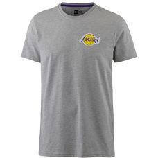 New Era Los Angeles Lakers T-Shirt Herren light grey heather