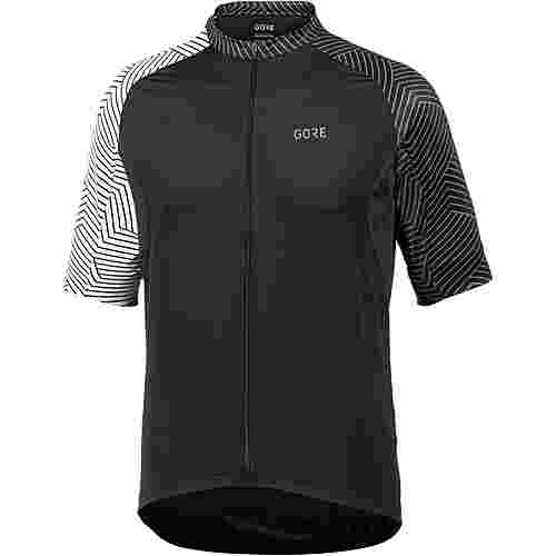 GORE® WEAR C5 Optiline Trikot Fahrradtrikot Herren black/white