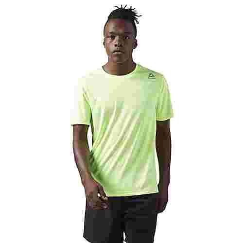 Reebok Running T-Shirt Laufshirt Herren Electric Flash/Medium Grey