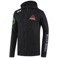 Reebok UFC Fight Night McGregor Walkout Hoodie Hoodie Herren Black/Chalk