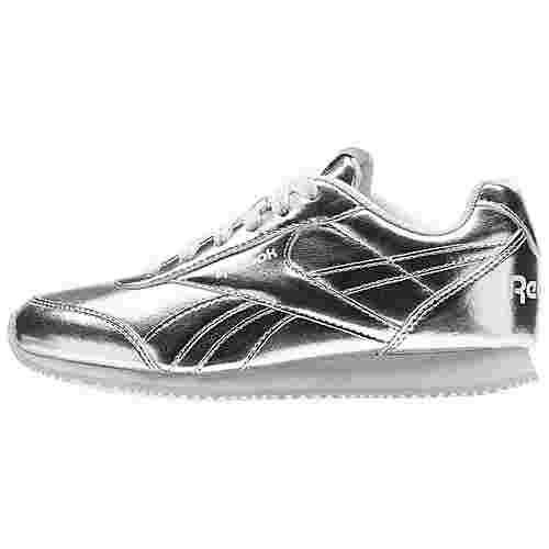 Reebok Royal Classic Jogger 2.0 Sneaker Kinder Silver Metallic/White