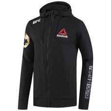 Reebok UFC Fight Night McGregor Walkout Hoodie Hoodie Herren Black/UFC Gold