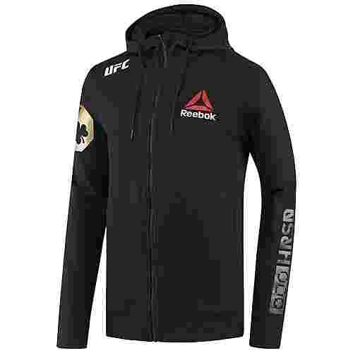 Reebok UFC Fight Night McGregor Walkout Hoodie Herren Black/UFC Gold